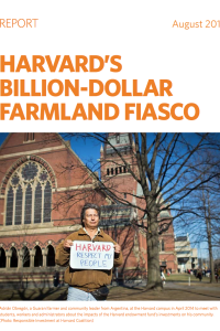 HARVARD'S BILLION-DOLLAR FARMLAND FIASCO